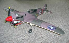 FMS-P40 Warhawk