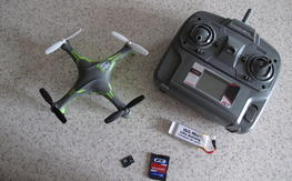 Heli-Max 1Si Quad RTF *WITH* Camera and FREE Shipping