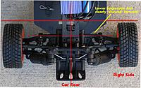 Name: Mini Rally Extreme Rear Suspension top view.jpg Views: 7 Size: 183.2 KB Description: