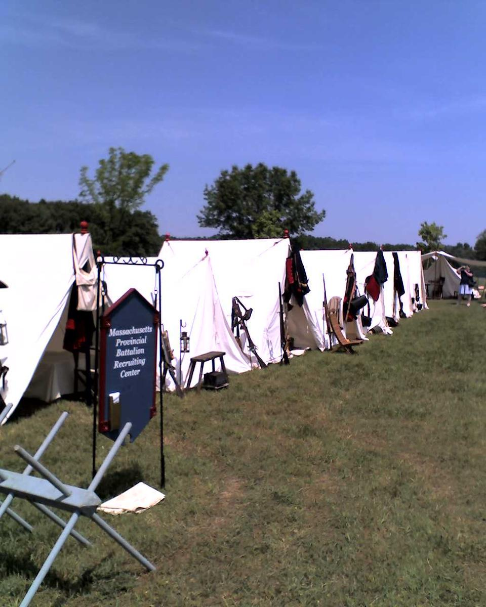 Civil War Reenactment Camp Out