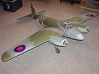 Name: DH Mosquito partly assembled.JPG Views: 3 Size: 69.2 KB Description: