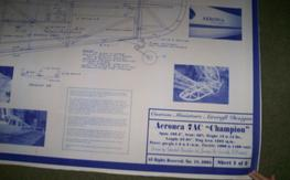 Various 1/4 scale Plans  NEW