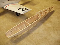 Name: P5260332.jpg Views: 377 Size: 217.9 KB Description: Next will be top deck sheeting and pushrods for ele and rud.