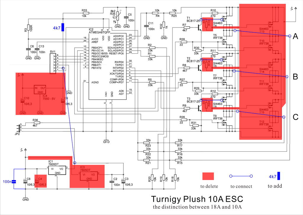 esc wiring harness turnigy esc wiring reprogram a brushless esc to get a brushed esc with no ...