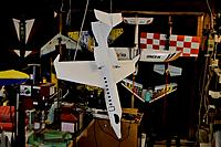 Name: Learjet in garage.jpg
