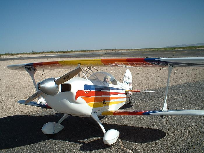 Great Planes Christan Eagle Moki 1.80 for power.