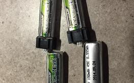 Nano QX 1s Batteries   (Will fit others)