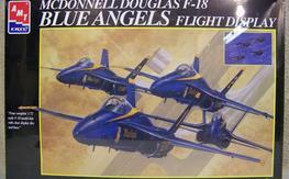 1/72 Blue Angels F-18 flight display