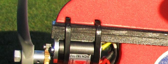The Megaforce one motor/gearbox is the recommended power source.