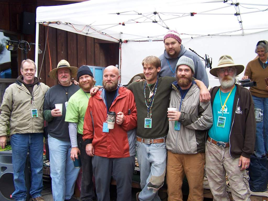 That's me and my stage crew at this year's Big Sur Jade Festival; I'm the Entertainment Chairman. Google the festival, or go to our Yahoo Groups site.