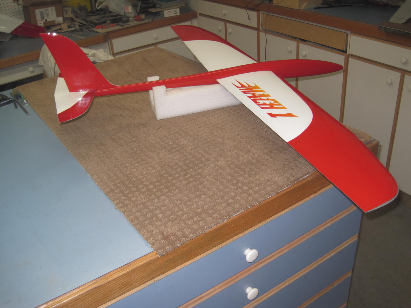 Matt's plane with no canopy