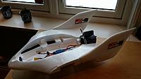 Name: resized_2015-01-25 14.33.17.jpg Views: 16 Size: 132.8 KB Description: The fuselage wasn't to hard to laminate, neither was the stabilizers. The canopy was a pain in the a.. laminating then.