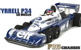 Brand New - Tamiya Tyrrell P34 XB Pro RTR