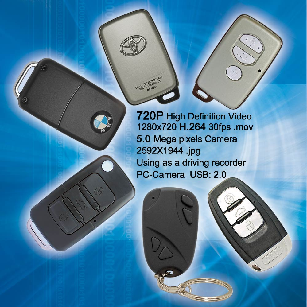 "The regular ""key chain"" version of the #11 (bottom center) is shown with the three new Jumbo #11 case styles with three different trim styles.  The car marque versions come with BMW, Audi, and Toyota logos."