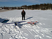 Name: Frank with float planes.jpg