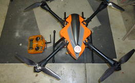 FQ700 quad RTF with radio, and battery!!!