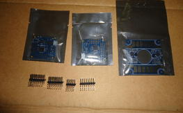 2x Flip 1.5 flight controllers. and power distro Board w/Built in BEC's