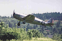 Name: Norm Cecil's Top Flight Gold Edition P 47 claws its way on up.jpg