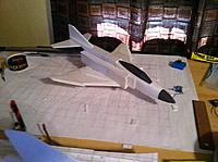 Name: IMG_1682[1].jpg Views: 203 Size: 794.8 KB Description: The fuse top, spine, and Vert/Horizontal tails are just sitting on.  Love F-4s!!!