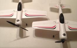 2 E-flite Micro Sukhoi and lots of parts