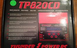 NIB Thunder Power TP820CD Dual Port 8S Charger