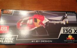 NIB Blade Red Bull BO-105 CB 130X FREE Shipping