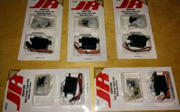 5x JR DS9411HV mini servos, brand new, HV Digital MG, $90 each, FREE shipping