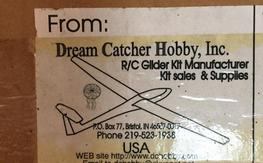 Dream Catcher Hobby Aquila Ribs and Plans AND fuse
