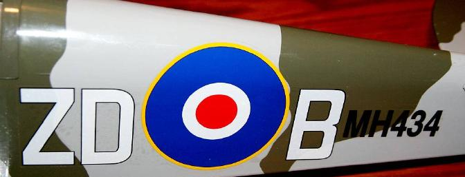 The great looking decals were added, and the Spitfire 25 was ready to fly!