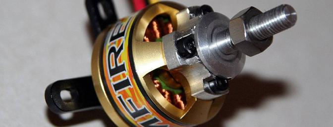 The ElectriFly RimFire 35-30-1450 Brushless Outrunner
