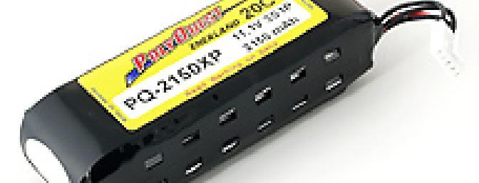 The Polyquest 3S1P 2150 LiPo pack