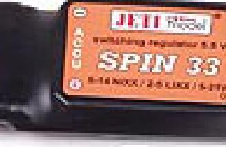The Jeti SPIN 33 AMP ESC
