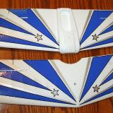 Here are the wings with the decals installed