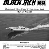 The Blackjack 26 Brushless EP Catamaran Boat Owner�s Manual