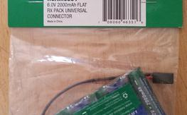 Hobbico Hydrimax Ultra 2000mah 5 cell pack NEW