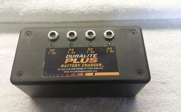 Duralite plus 4 port battery charger