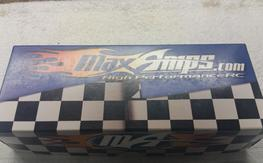 Max Amps 150C Performance 6500MAH Lipo 6S Like New!