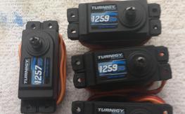 Turnigy Digital Titanium Cyclic servos and tail 550-800 class Heli