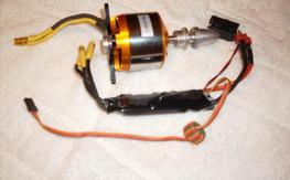4120/7 Brushless Motor, and ESC