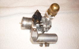 Vintage K&B Perry Carb, Pitts Muffler
