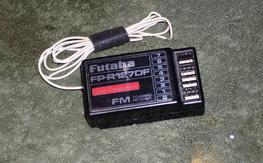 Futaba FP R127DF 72MHz crystal # 20 receiver,Dual conversion