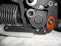 Name: SAM_0748.jpg Views: 55 Size: 87.3 KB Description: I went with the roto start, I figured it would be a PITA to try and pull start this thing on a bike. Had to put one together using different part because the one way is an odd size.