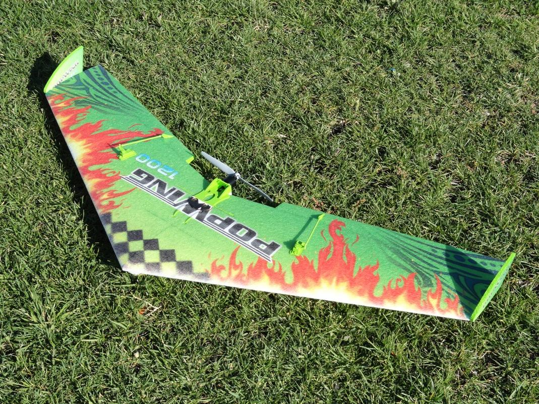 TechOne PopWing 1200 from Nitroplanes.com