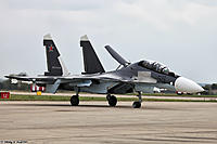Name: maks_airshow_2013_ramenskoye_airport_russia_526-31.jpg Views: 47 Size: 1.10 MB Description: How this beast will look except without clipped fins and one seater version only.... an SU-35ish 7ish  :)