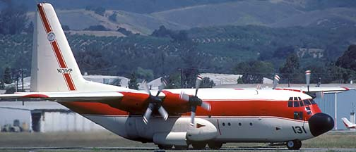 Name: 3 17 C-130A N131HP Tanker 131 right front taxiing m.jpg