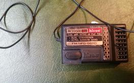 Hitec RCD3600 8Ch - 72mhz - Hitec/Futaba
