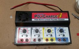 (2) Polycharge 4 chargers