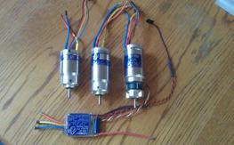 Aveox motors and esc