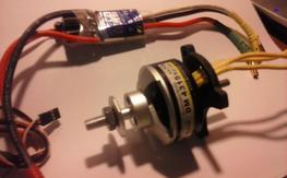 Motrolfly Motor and Castle ICE ESC