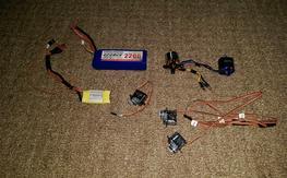 Turnigy 1100kv, 30 amp esc and etc..